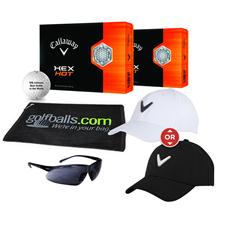 Callaway Golf HEX Hot Fan Pack - White Hat