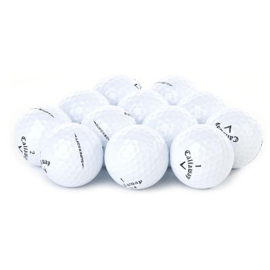 Callaway Golf Supersoft Logo Overrun Golf Balls