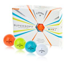 Callaway Golf Supersoft Multi-Color Personalized Golf Balls