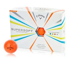 Callaway Golf Orange Supersoft Orange Golf Balls