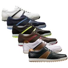 FootJoy Men's Contour Casual Dual Stripe Golf Shoe