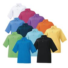FootJoy Custom Logo ProDry Performance Lisle Pencil Stripe Shirt