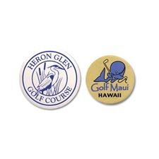 Logo Golf Custom Logo Plastic Ball Marker