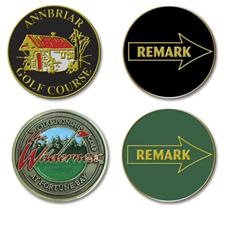 Logo Golf Custom Logo Remark Ball Marker