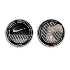 Nike Challenge Coin Ball Markers
