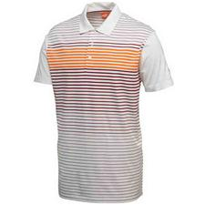 Puma Men's Engineered Stripe Tech Cresting Polo
