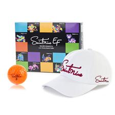 Saintnine Orange EF 2 Piece Orange Golf Balls w/ Free Hat