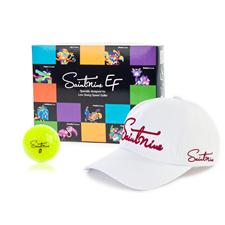 Saintnine EF 2 Piece Yellow Golf Ball w/ Free Hat