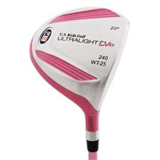 U.S. Kids Ultralight DV1 Pink 240 Driver
