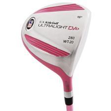 U.S. Kids Ultralight DV1 Pink 280 Driver
