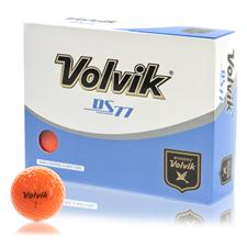Volvik DS77 Orange Personalized Golf Balls
