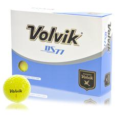 Volvik DS77 Yellow Personalized Golf Balls