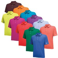 Adidas Men's Puremotion Fashion Solid Jersey Polo
