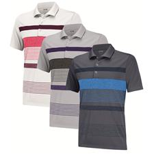 Adidas Men's Puremotion Heather Merch Stripe Polo