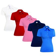 Ashworth Performance EZ-SOF Solid Polo for Women
