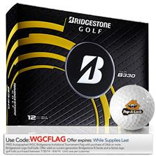 Bridgestone Custom Logo Tour B330 Golf Balls - 2014