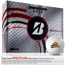 Bridgestone Tour B330-RXS Logo Golf Balls