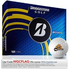 Bridgestone Tour B330-S Logo Golf Balls