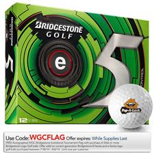 Bridgestone Custom Logo e5 Golf Balls