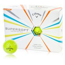 Callaway Golf Custom Logo Supersoft Lime Golf Balls