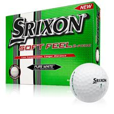 Srixon Soft Feel Pure White Golf Balls