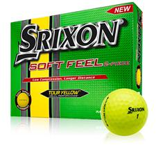Srixon Soft Feel Tour Yellow Golf Balls - 2015