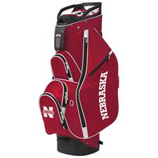 Sun Mountain Nebraska Cornhuskers Collegiate Licensed C-130 Cart Bags - 2015 Model