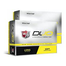 Wilson Staff Duo Double Dozen Yellow Golf Ball