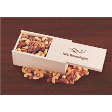 Wooden Collector's Box - Deluxe Mixed Nuts