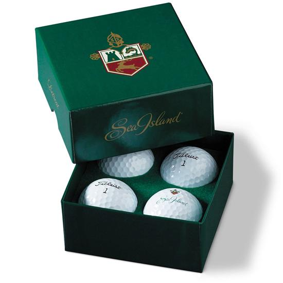 Titleist Custom 4-Ball Set-Up Box
