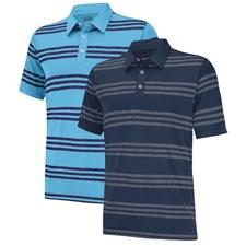 Adidas Men's Puremotion Heather 3-Stripes Polo