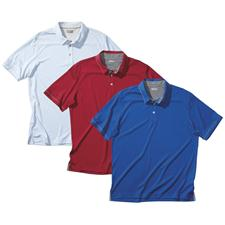 Ashworth Men's Performance EZ-SOF Piped Solid Polo