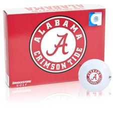 Bridgestone Alabama Crimson Tide e6 Collegiate Golf Balls