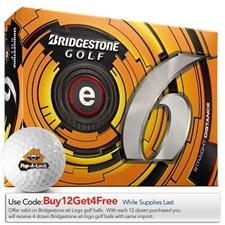 Bridgestone Custom Logo Prior Generation e6 Golf Balls