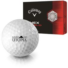 Callaway Golf HEX Diablo Links of Utopia Logo Golf Balls