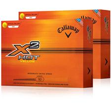 Callaway Golf X2 Hot Double Dozen Golf Balls