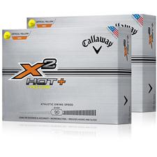 Callaway Golf X2 Hot+ Double Dozen Golf Balls