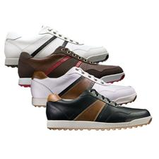 FootJoy Wide Contour Casual Dual Stripe Golf Shoe