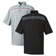 FootJoy Men's Solid Chest Stripe Shirt - Previous Season Apparel