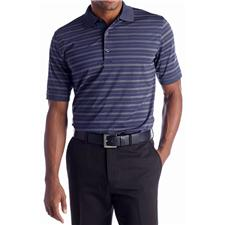 Greg Norman Men's ML75 Stretch Metro Stripe Polo