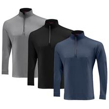 Mizuno Men's Fuyu Long Sleeve Half Zip Pullover