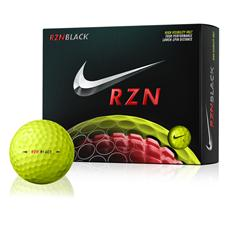 Nike RZN Black Volt Golf Balls - 2015 Model