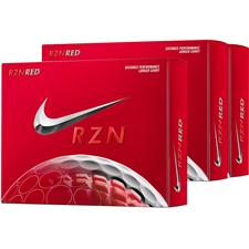Nike RZN Red Golf Balls - Buy 2 DZ Get 1 DZ FREE