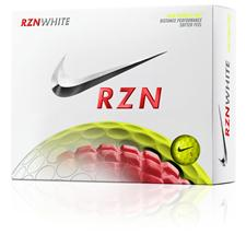 Nike RZN White Volt Golf Balls - 2015 Model