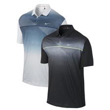 Nike Men's TW Seasonal Bold Stripe Polo