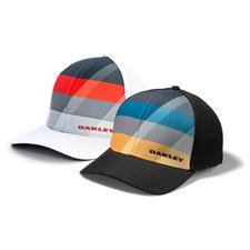 Oakley Men's Silicon Bark Trucker 3.0 Print Hat