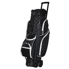 RJ Sports Wheeled Transport Print Cart Bag for Women