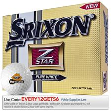 Srixon Z Star 3 Tour Logo Golf Balls