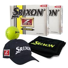 Srixon Z Star XV 3 Tour Yellow Double Dozen Ball Pack