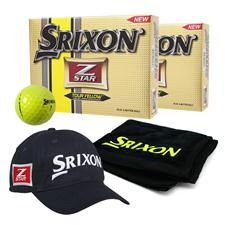 Srixon Z Star 3 Tour Yellow Double Dozen Ball Pack